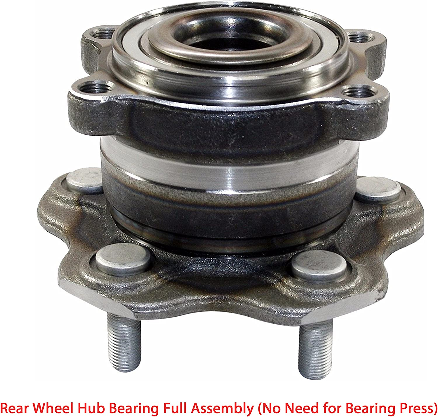 GAS Natural Rear,Front GMB 799-0003 FWD Axle Bearing and Hub Assembly-Base
