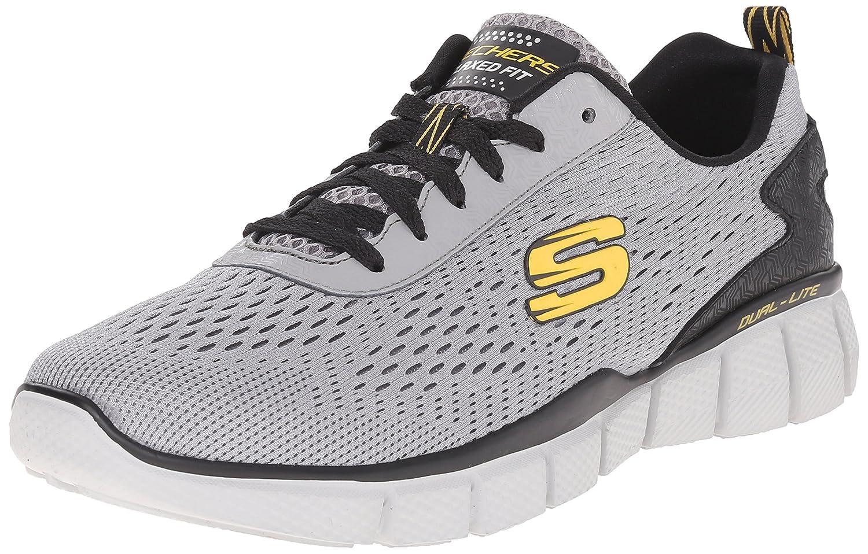 Skechers Equalizer 51529, Zapatillas Deportivos, Hombre 41 EU Gris (Gyyl)