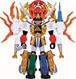 The Power Rangers Iconic Megazord Comes In A Sleek Samurai Look - Power Rangers Deluxe Megazord Samurai Gigazord by Power Rangers