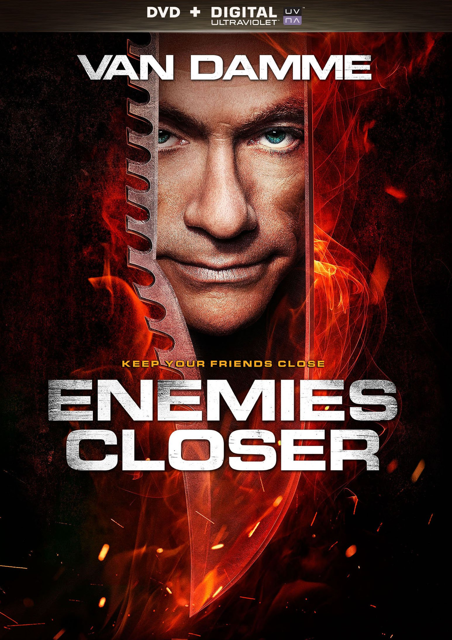 DVD : Enemies Closer (Ultraviolet Digital Copy, Widescreen, Dolby, AC-3, )