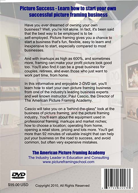 Amazon.com: The American Picture Framing Academy\'s \