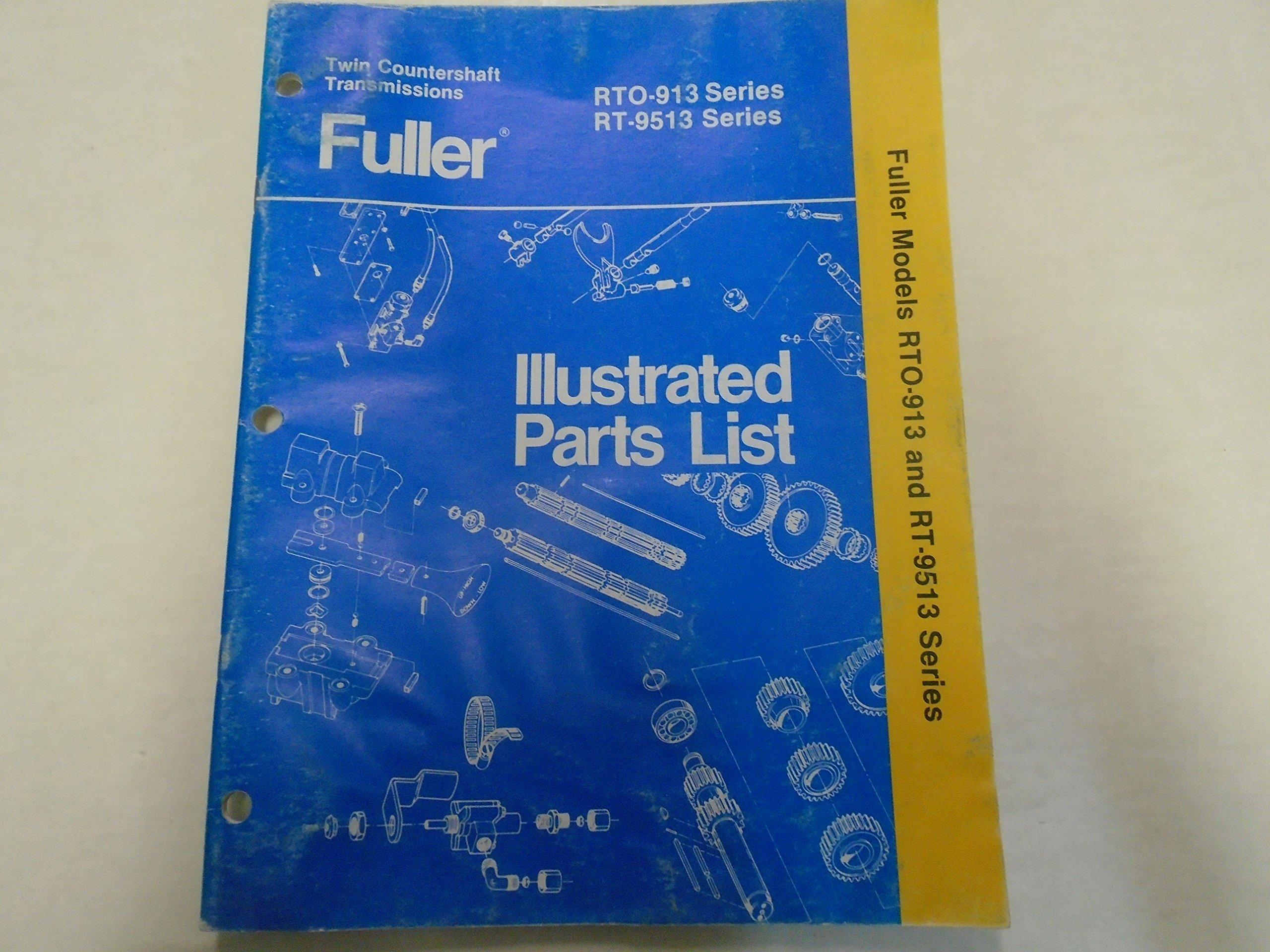 Eaton Fuller RT-510 RT-610 Series Transmission Parts Catalog