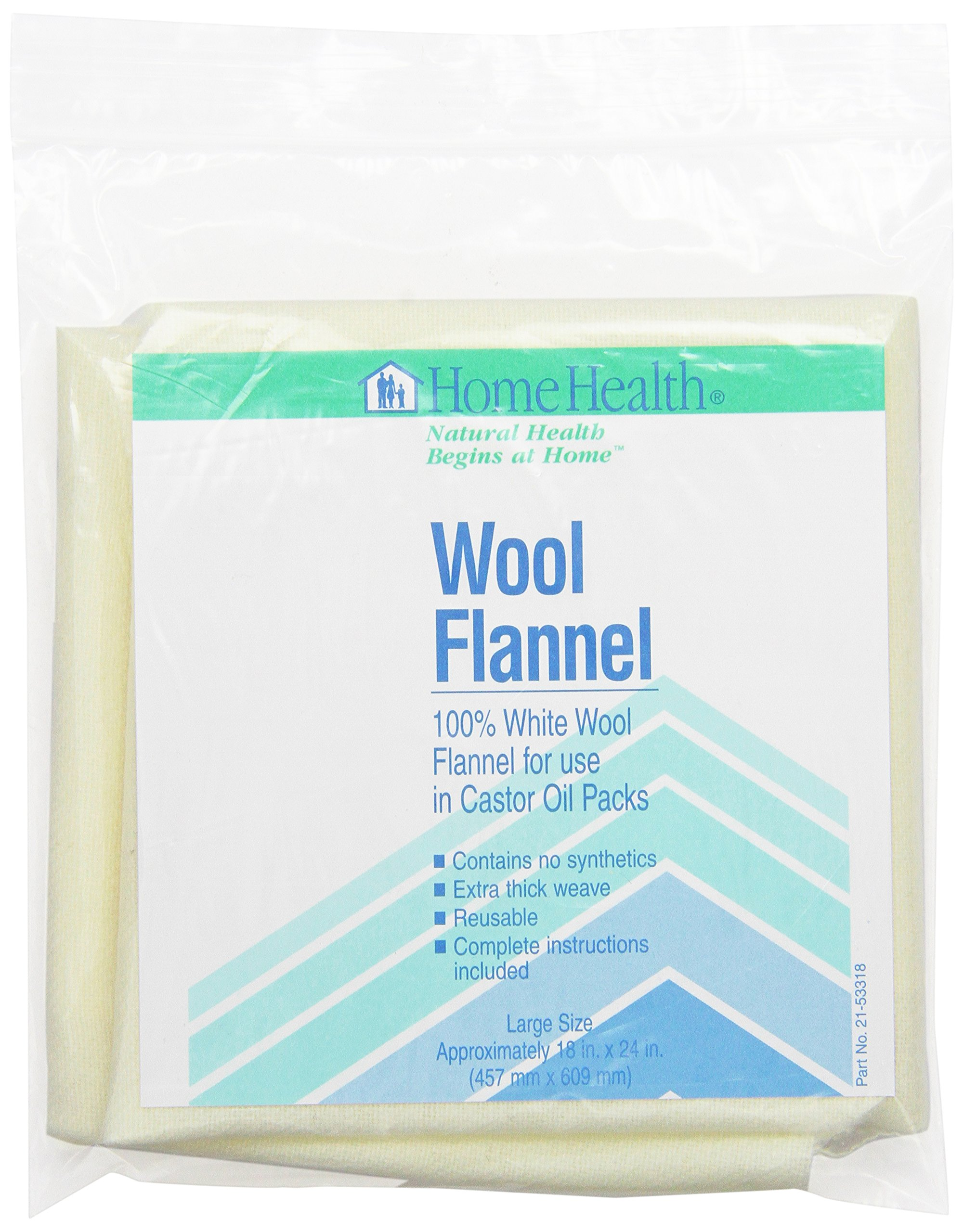 Home Health Wool Flannel, Large