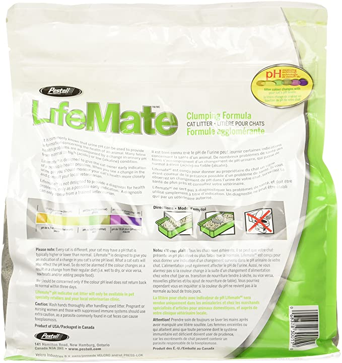 Amazon.com : Pestell Pet Products Lifemate Scoopable Cat Litter : Pet Litter : Pet Supplies
