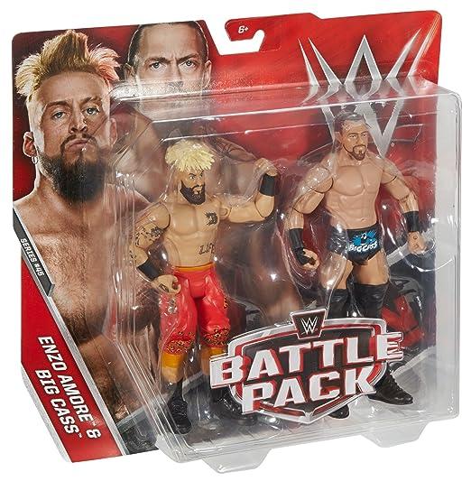 WWE Enzo amore & Big CASS Figura de acción (2u.): Amazon.es: Juguetes y juegos