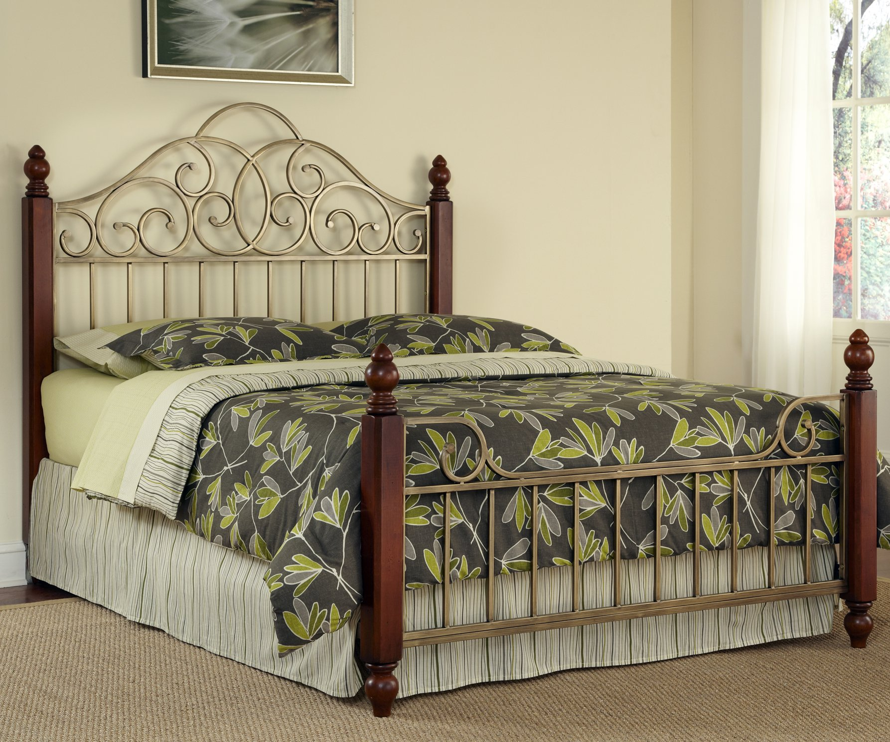 St. Ives Queen Bed by Home Styles