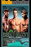 The Emerald Dragon's Treasured Mate: The Jeweled King's Curse Mpreg Romance Book Three