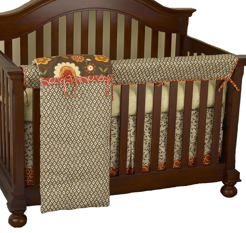 Cotton Tale Designs Front Crib Rail Cover Up Set, Peggy Sue by Cotton Tale Designs   B008S00FTK