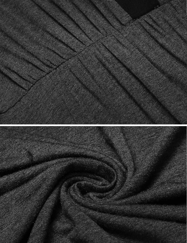 Balancora Stillnachthemd Umstandsnachthemd Knopfleiste Kurzarm Nachthemden f/ür Schwangere und Stillzeit
