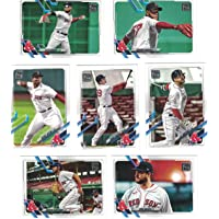 $20 » Boston Red Sox/Complete 2021 Topps Baseball Team Set (Series 1) with (7) Cards.…