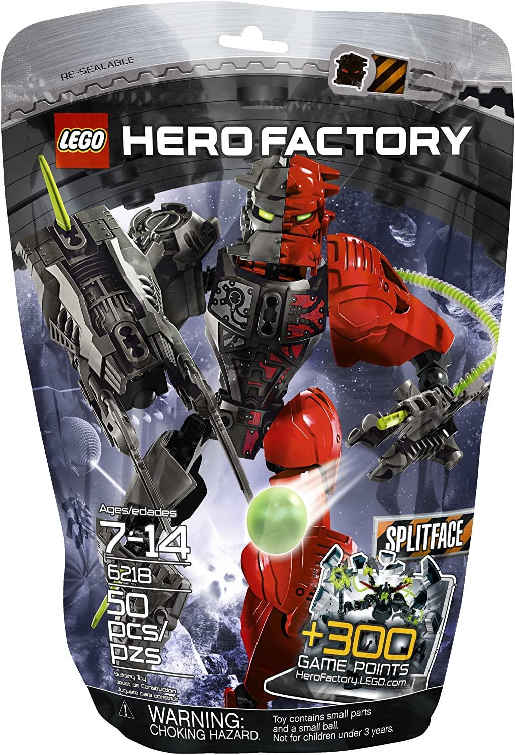 LEGO Hero Factory Splitface 6218