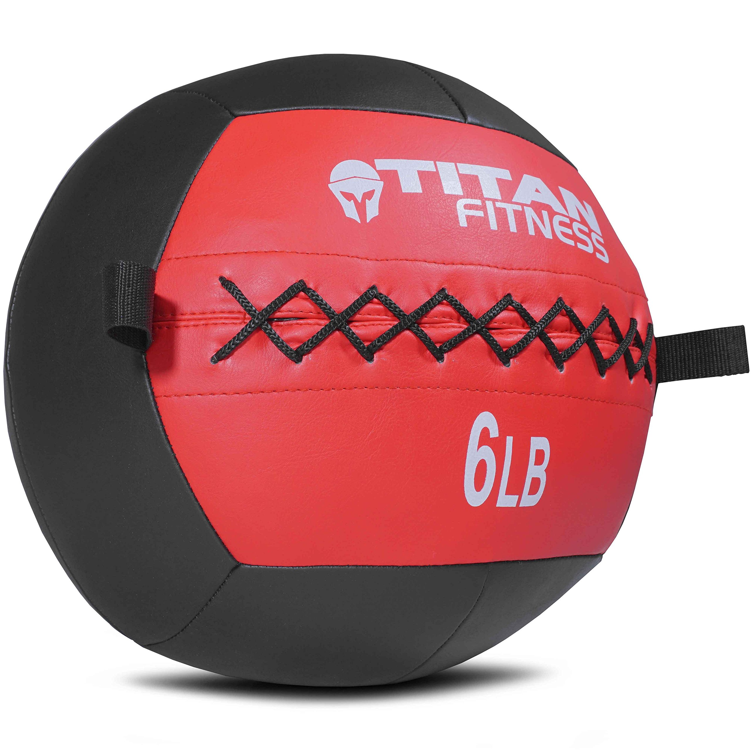 Titan Soft Wall Ball Medicine 6 lb Core Workout Cardio Muscle Exercises Fitness