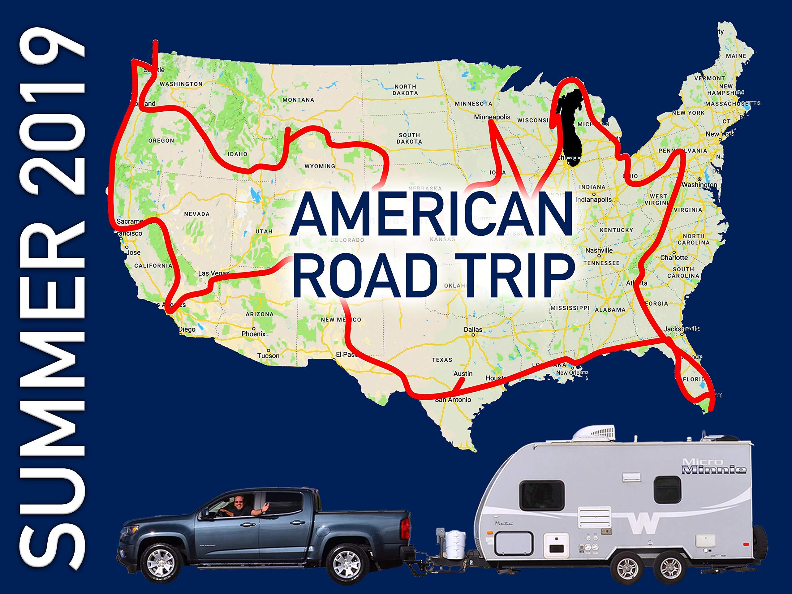 Summer 2019 American Road Trip on Amazon Prime Video UK