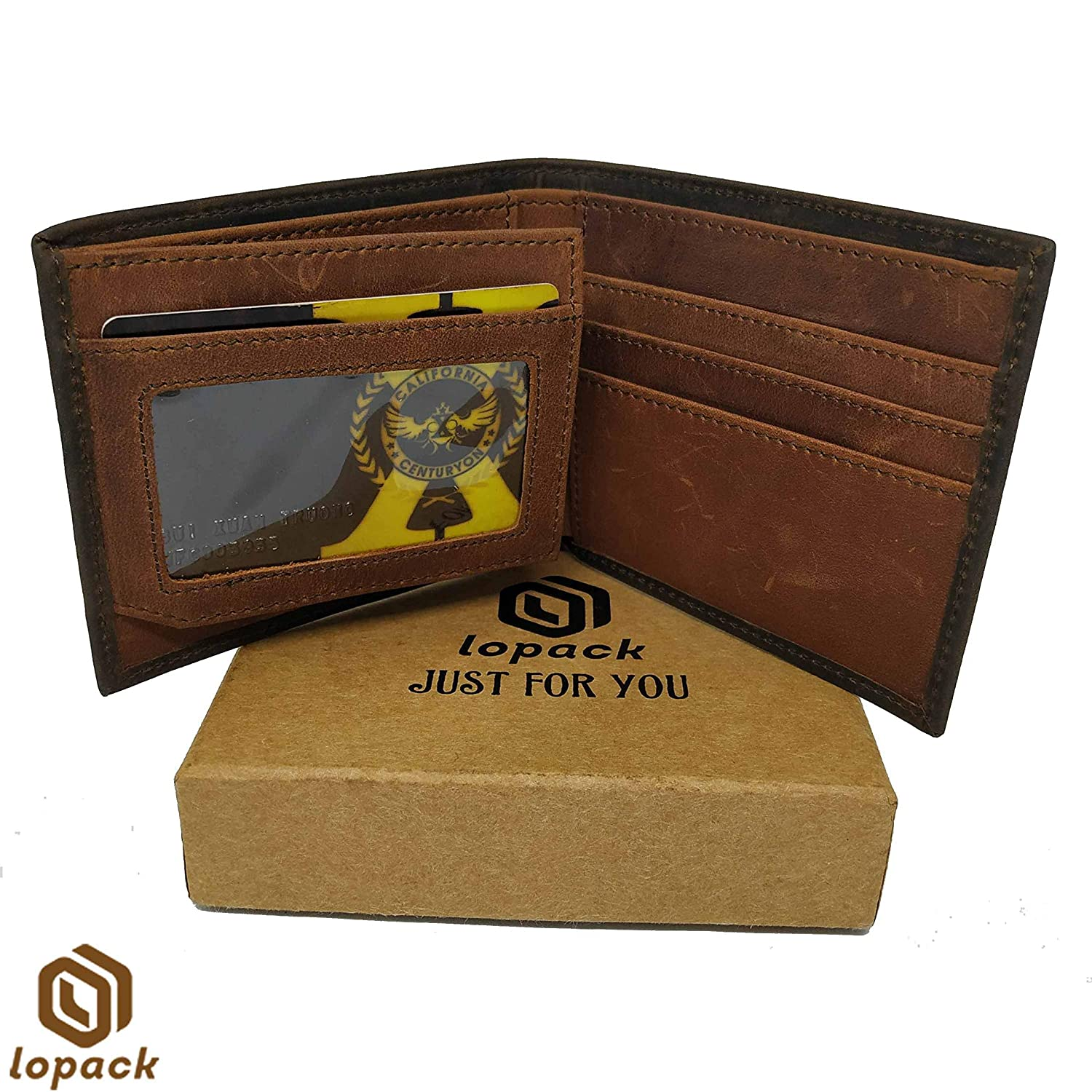 BRYANT Leather Wallet Embossed with gift box