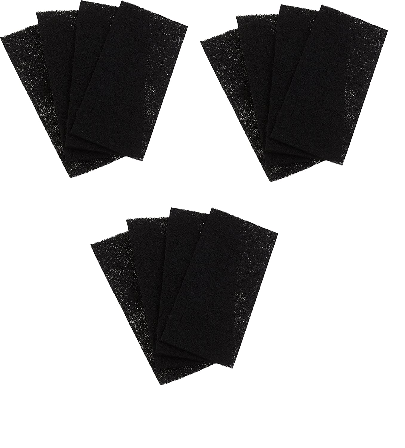 Replacement Holmes Carbon Filters HAPF60, CP-6011 Filter C, 4 Pack All-Filters Inc