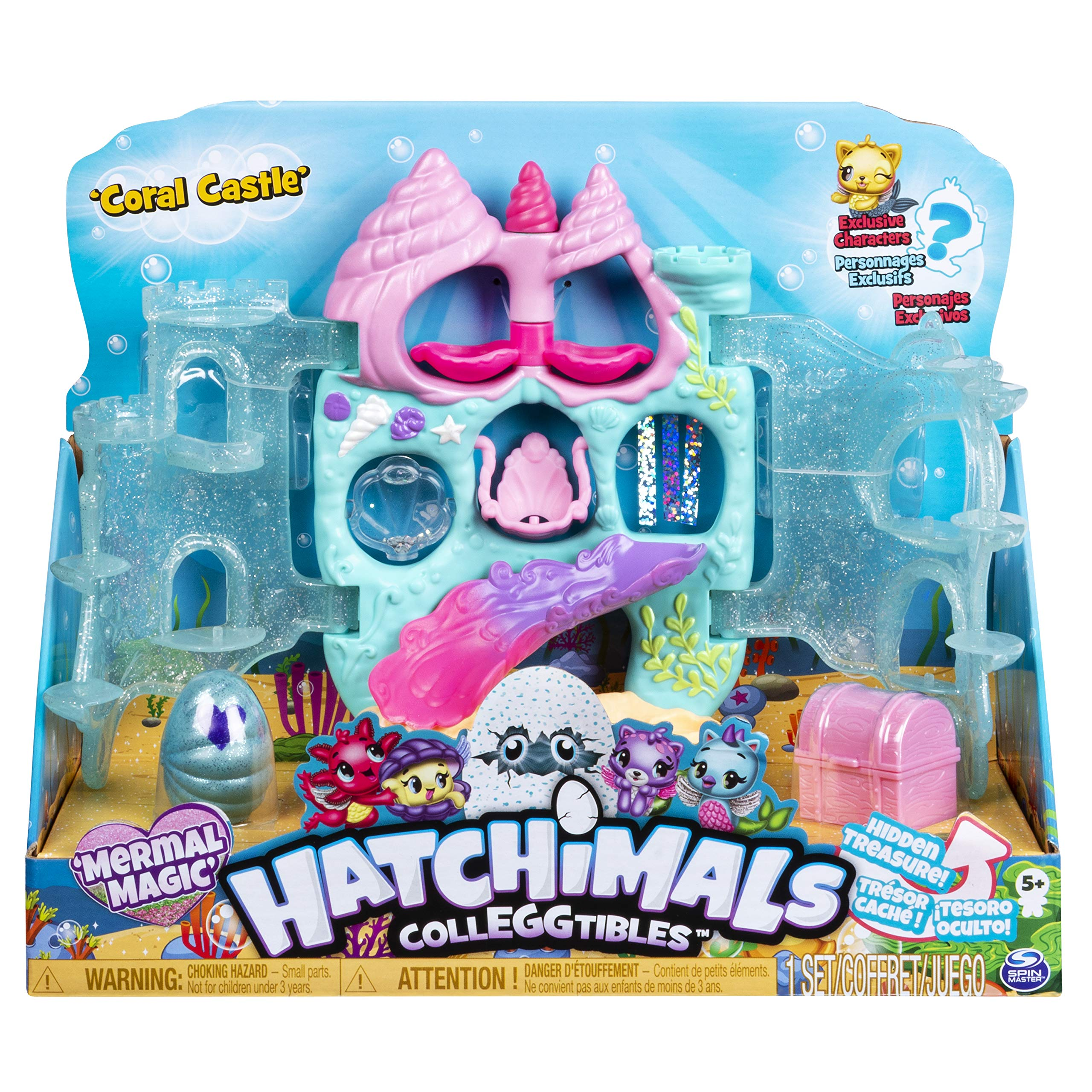 Mermal Magic 12-pack Egg Carton with Season 5 HATCHIMALS Multicolour for Kids Aged 5 and Up HATCHIMALS 6045511 CollEGGtibles