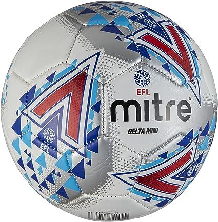 Mitre Mens Efl Delta Mini Football, White: Amazon.es: Deportes y ...