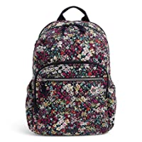 Women's Signature Cotton Campus Backpack, Itsy Ditsy, One Size