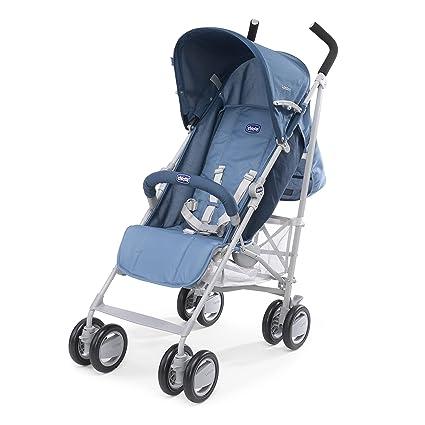 Chicco London - Silla de paseo, compacta y manejable, 7,2 kg, color azul