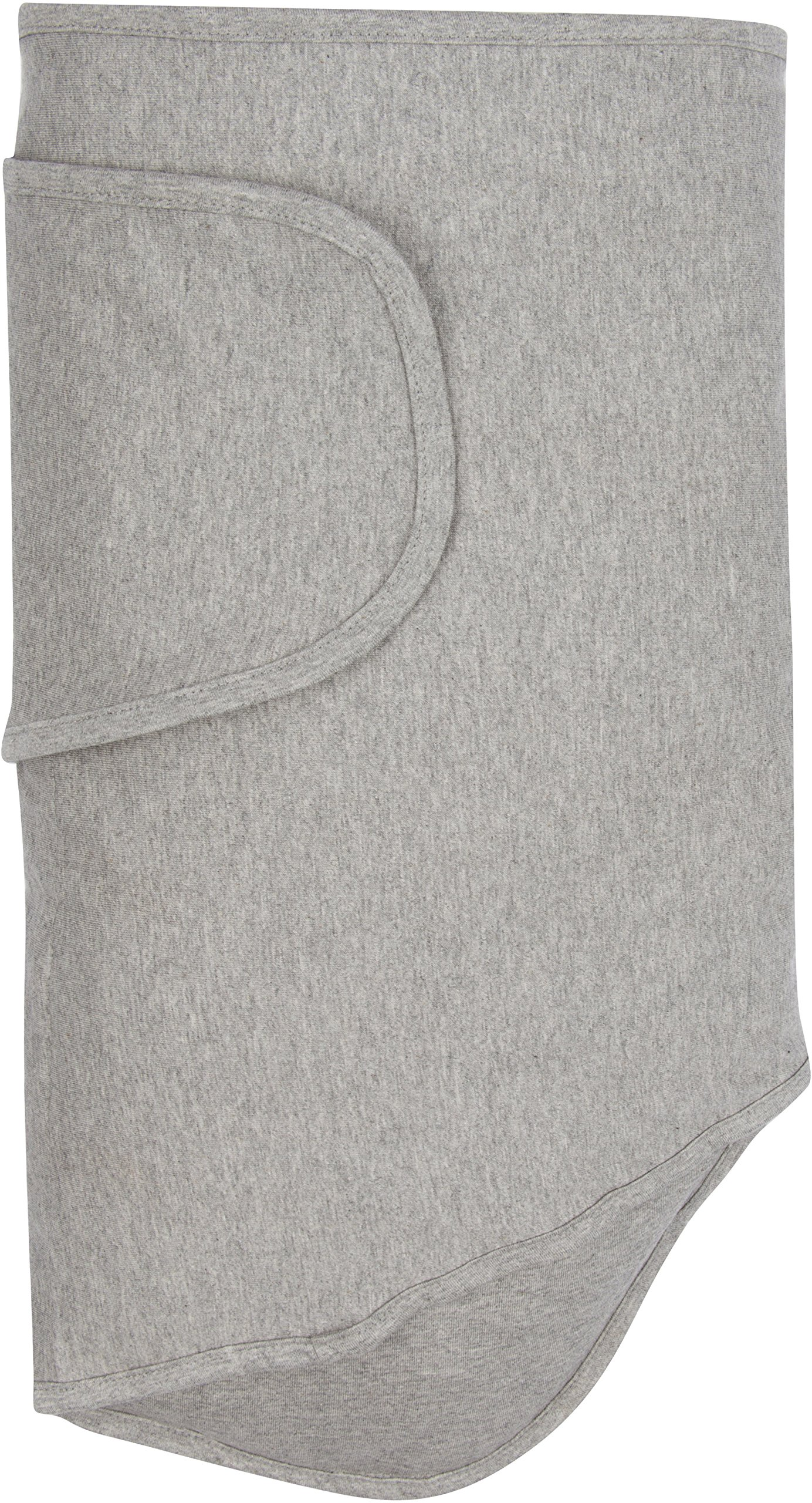 Miracle Blanket Swaddle Unisex Baby, Solid Grey by Miracle Blanket