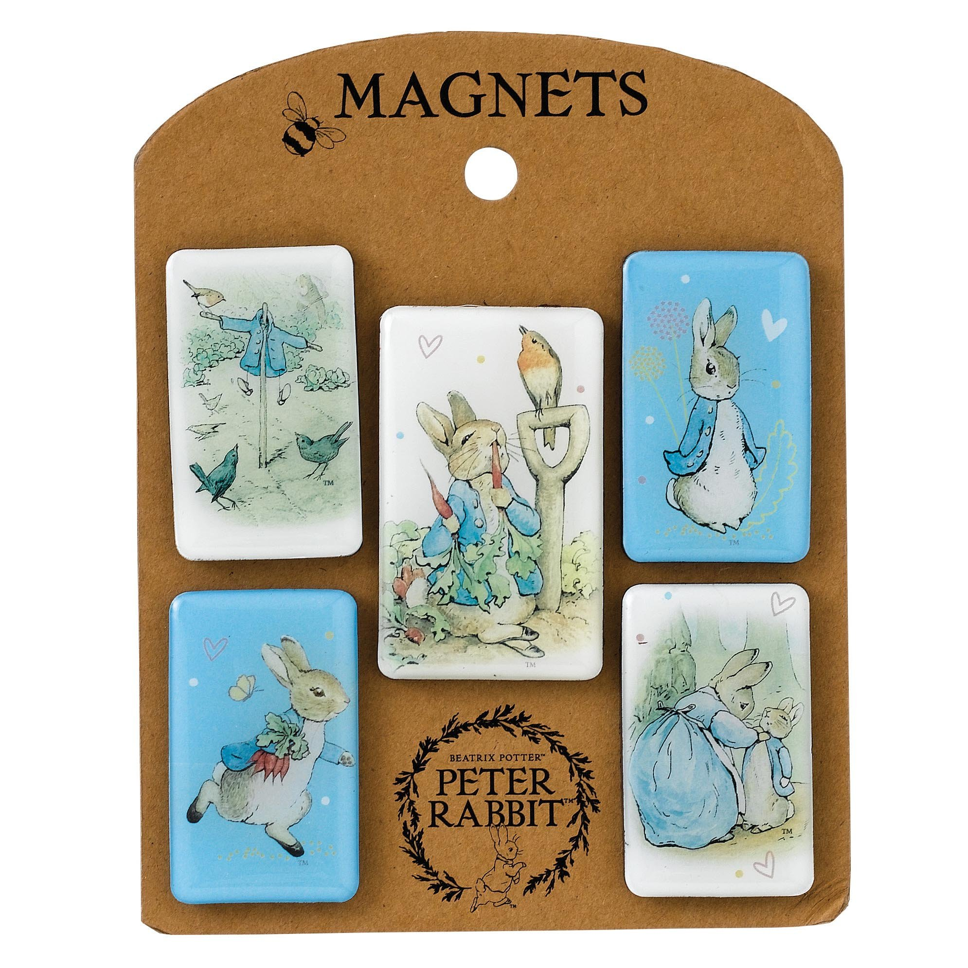 Luck Beatrix Potter Peter Rabbit Magnet Set