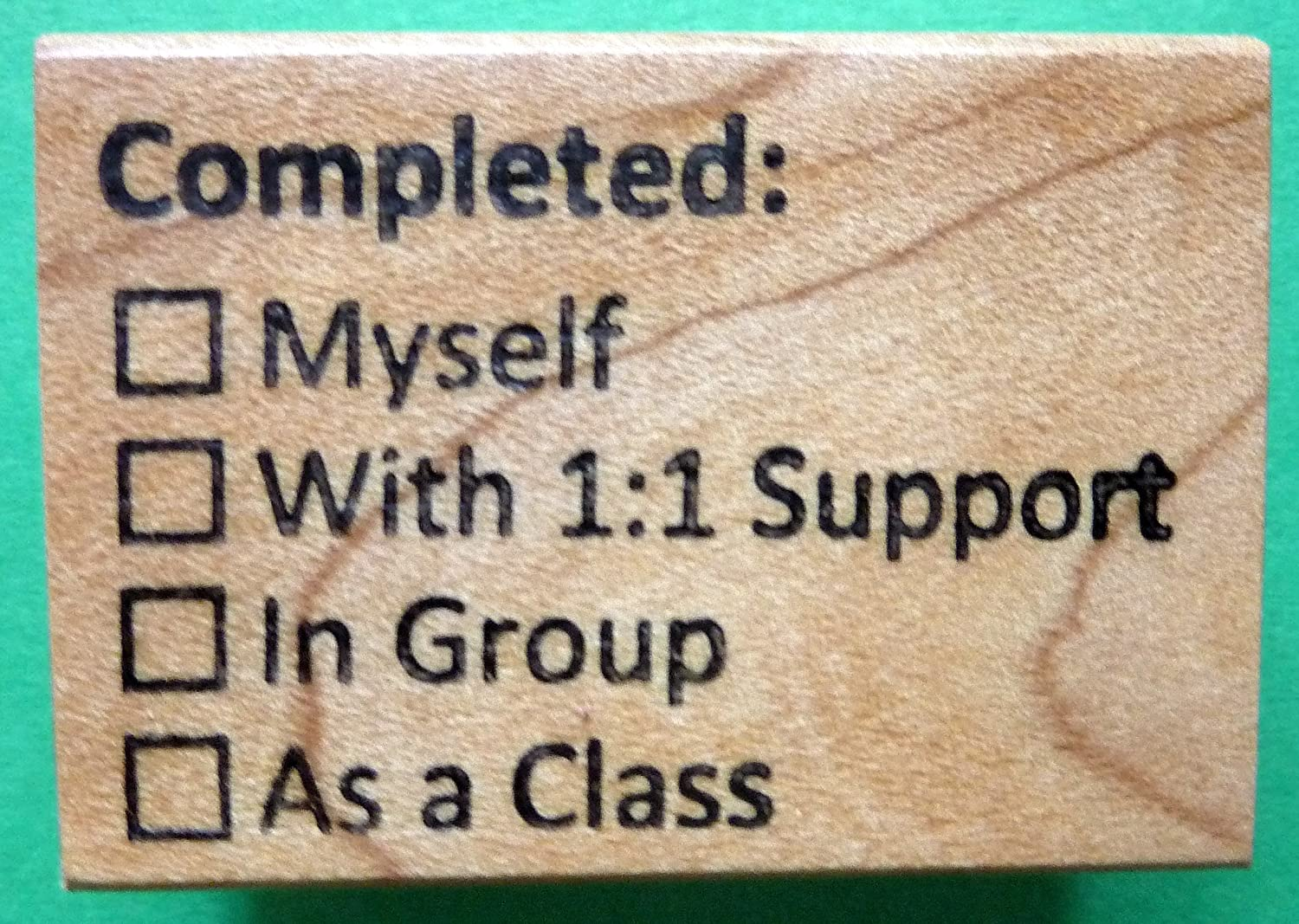 Completed: Teachers Rubber Stamp