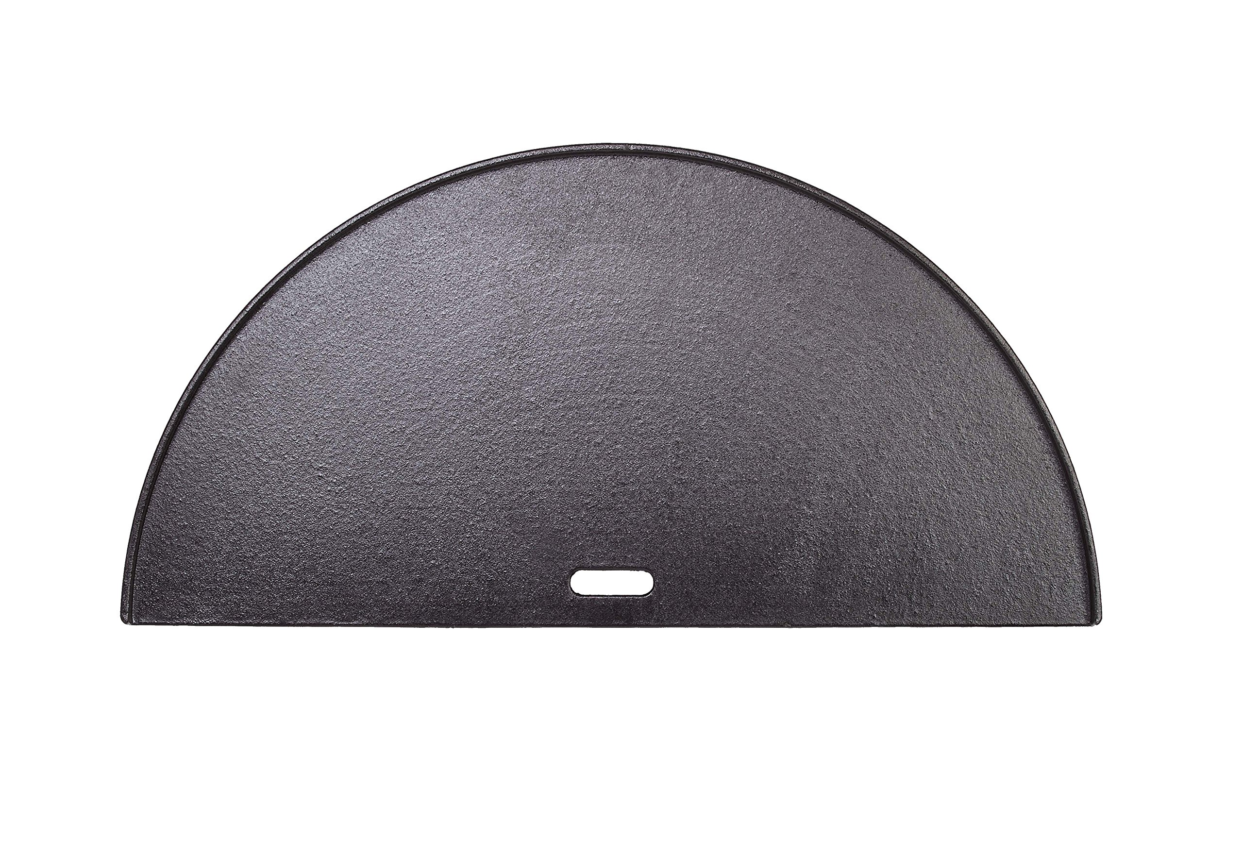 Kamado Joe KJ-HCIGRIDDLE Classic Joe Half Moon Reversible Griddle, Cast Iron by Kamado Joe
