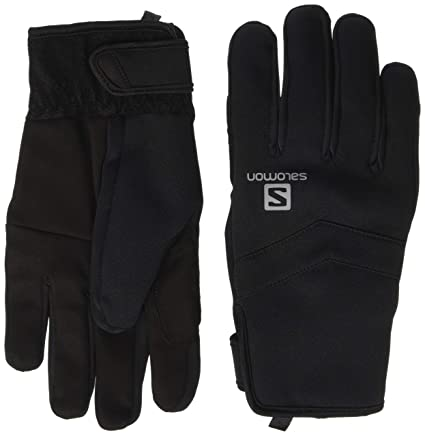Adulto Salomon Rs Warm Glove U Black White Unisex