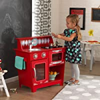 KidKraft Kids Cocina Playset, Rojo