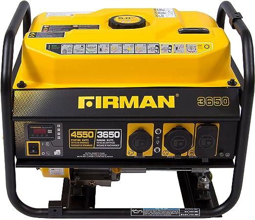 Amazon.com: Firman P03601 4550/3650 Watt - Generador ...