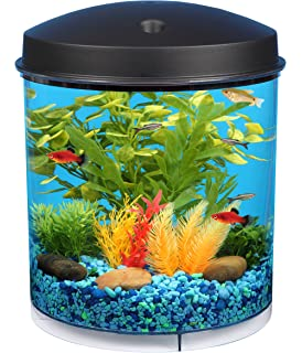 fish for office. API Aquaview 360 Aquarium Kit With LED Lighting And Internal Filter Fish For Office