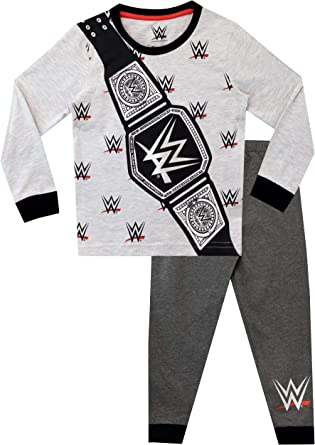 WWE Pijamas de Manga Corta para niños World Wrestling Entertainment