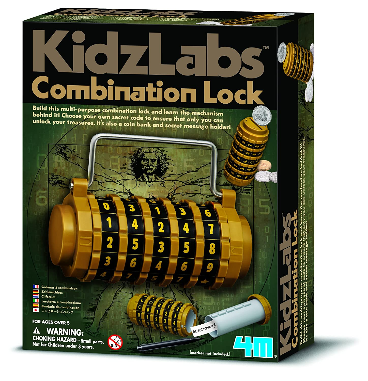 4M - Combination Lock, juego educativo (004M3362) 403362