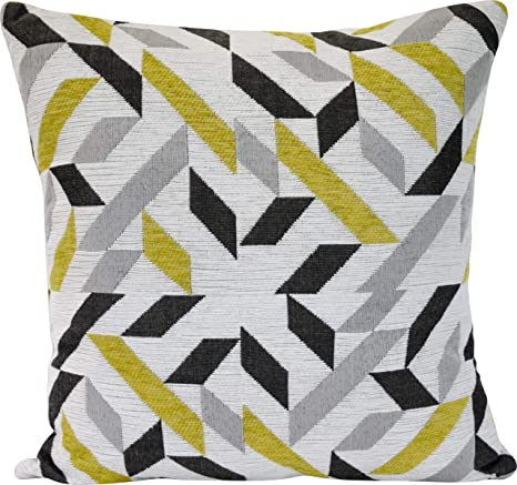 Amazon Com Urban Loft By Westex Modern Abstract Feather Filled Decorative Throw Pillow Cushion 20 X 20 Home Kitchen