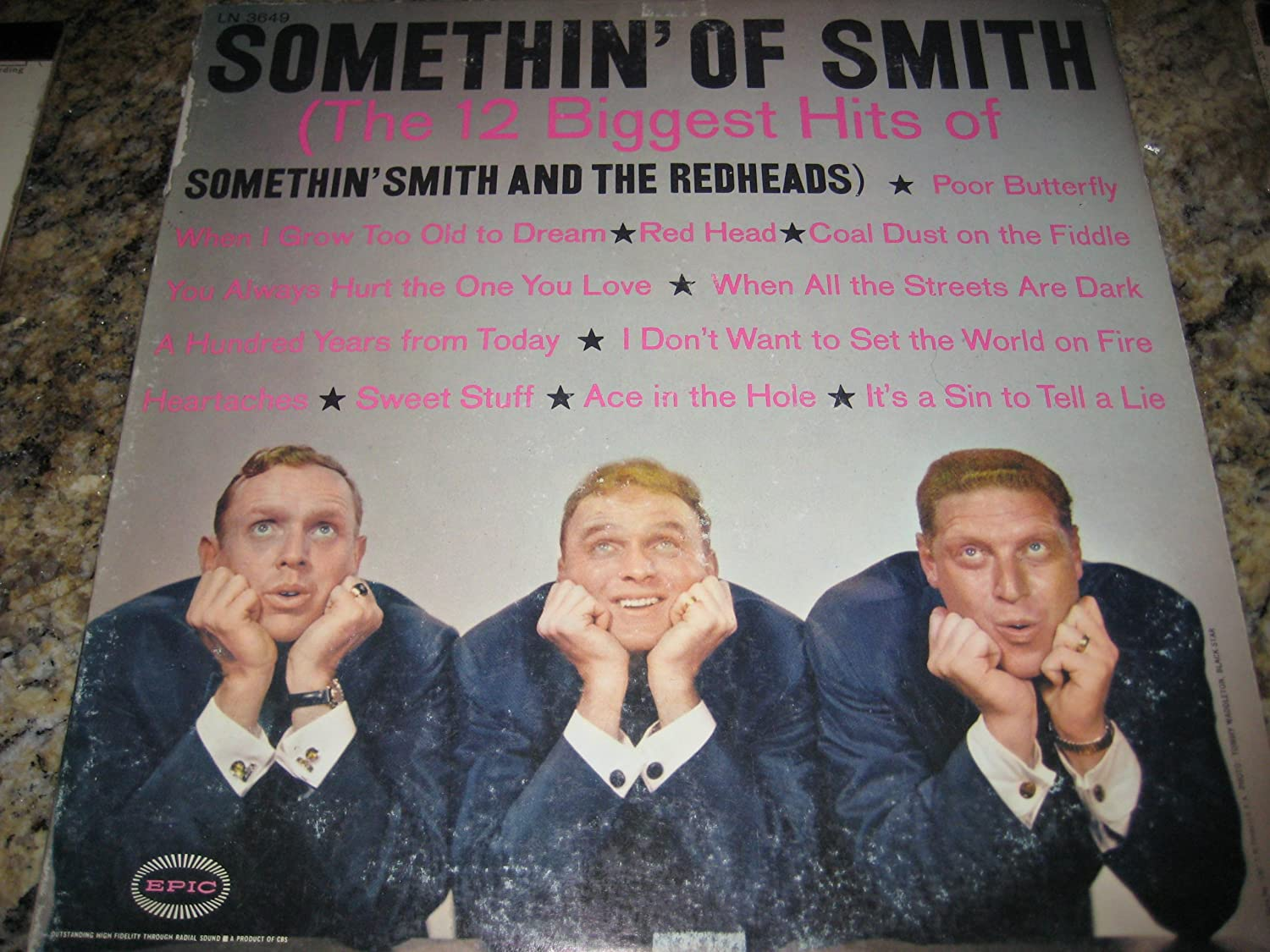 Somethin Smith, Somethin Smith and the Redheads - Somethin' of Smith: 12  Biggest Hits of Somethin' Smith and the Redheads - Amazon.com Music