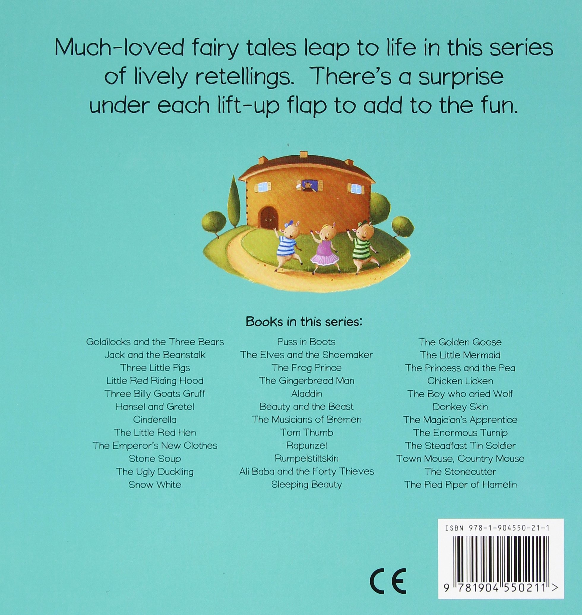 Three Little Pigs (flipup Fairy Tales): Richard Johnson: 9781904550211:  Amazon: Books