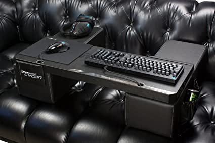 COUCHMASTER Cycon   Titan Edition (Ergonomic Couch Gaming Desk, Incl.  Cushions,