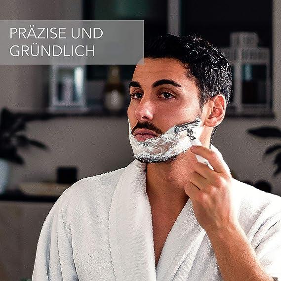 WLDOHO® Maquinilla de afeitar de resina endurecida para hombre y ...