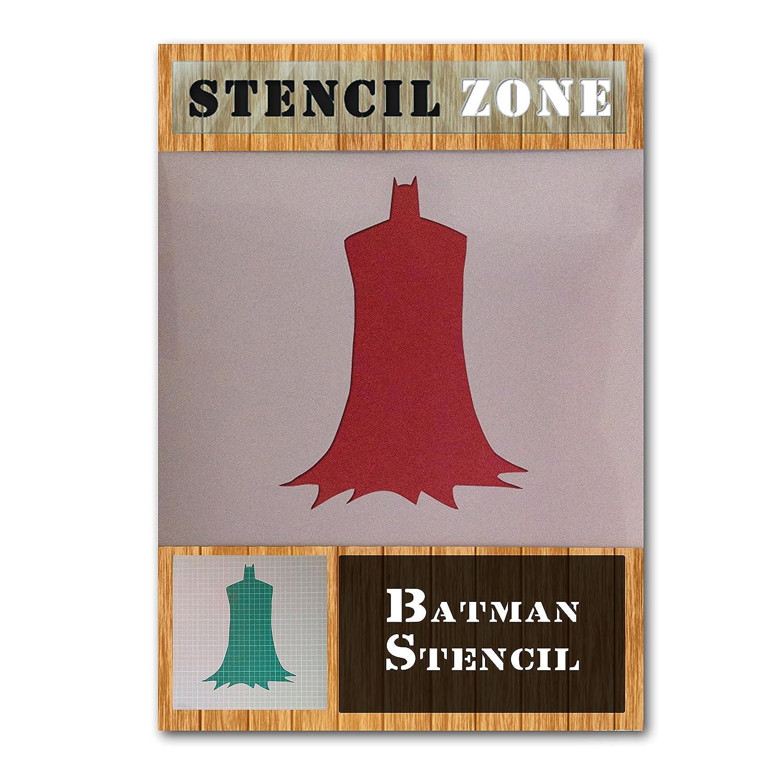 Batman-Stand, Hero, Mylar-Airbrush-Schablone, Basteln, A1 Size Stencil - Xlarge STENCIL ZONE