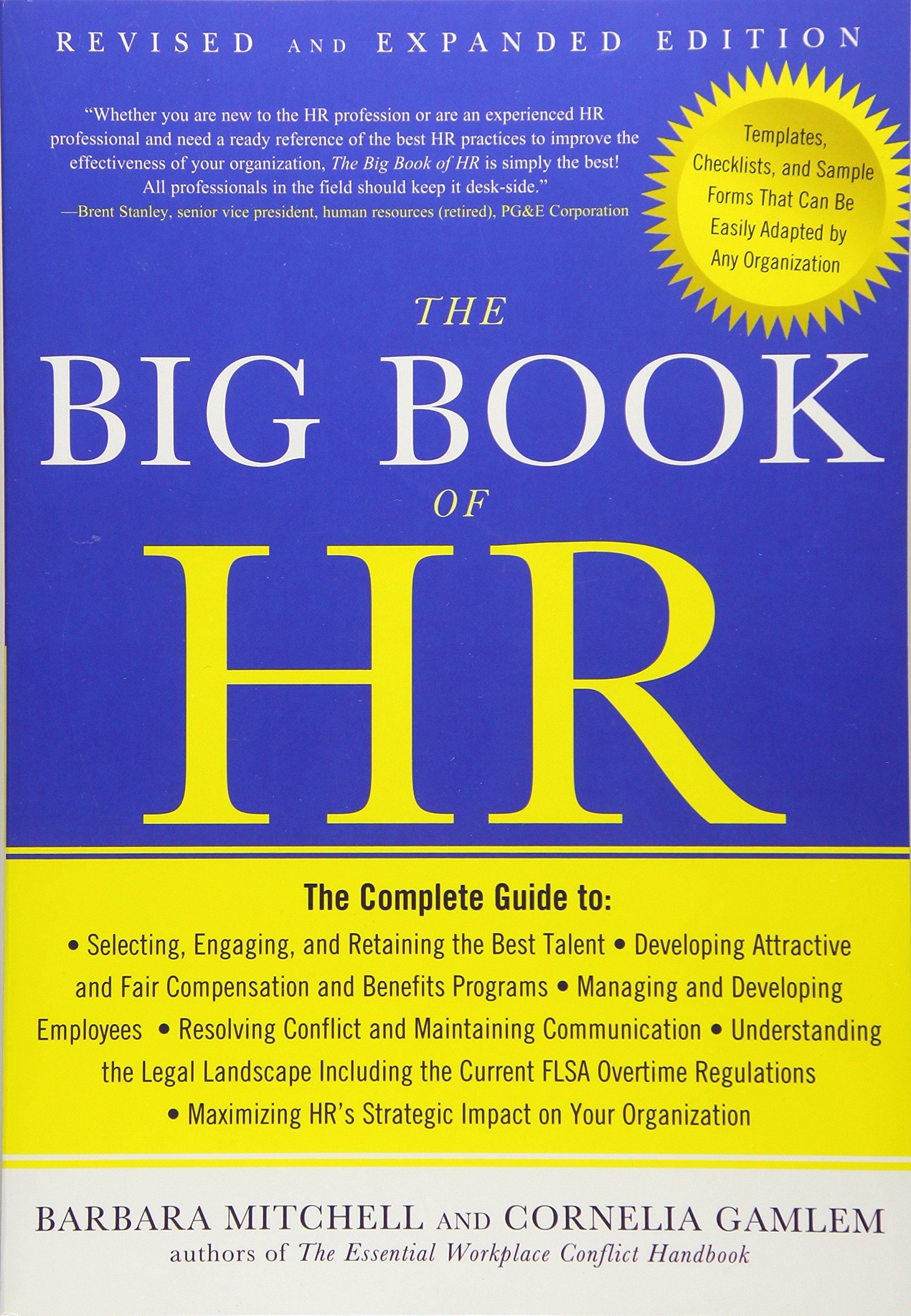 The Big Book of HR, Revised and Updated Edition: Barbara Mitchell, Cornelia  Gamlem: 9781632650894: Amazon.com: Books