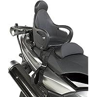 GIVI S650 schwarzer universell montierbarer Kindersitz für Motorroller