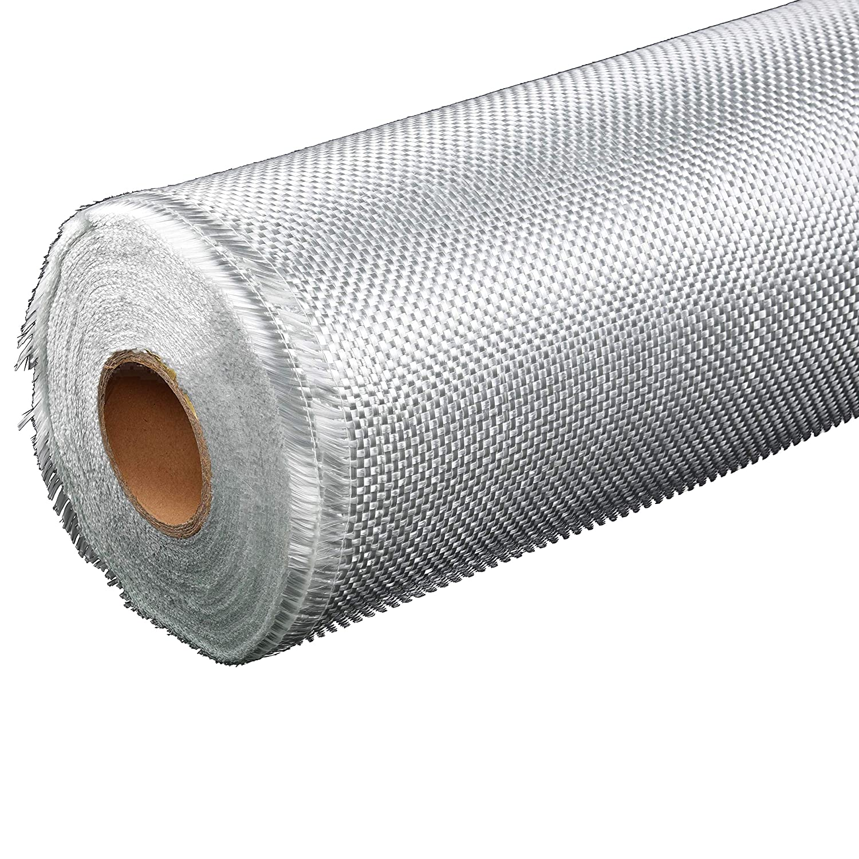 Nansheng Premium Select Heavy Weight Fiberglass Fabric Cloth Mesh Fiberglass Mat Material Roll Woven Roving for Tub Shower Boat Pool Repair 39 x 2 Yards,24 Oz.