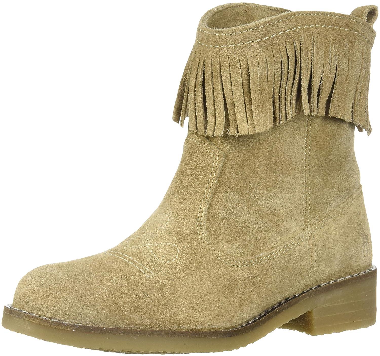 M045 M US Toddler Polo Ralph Lauren Kids Girls Zyla Fashion Boot Sand