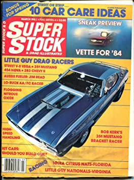 Super Stock & Drag Illustrated 3/1983-Mach 1 Mustang-Top
