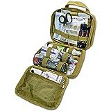 Lightning X Rip-Away Officer's Patrol Tactical Gunshot & Trauma IFAK Kit w/Headrest Mount - Desert TAN