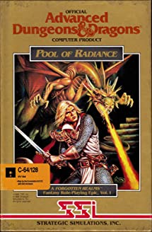 Pool of Radiance - Commodore 64: Video Games - Amazon com
