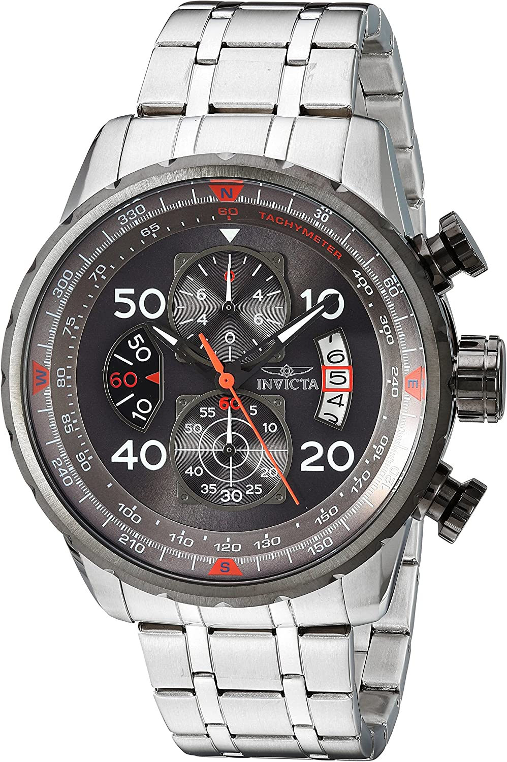 Invicta Men s 17204 AVIATOR Stainless Steel Casual Watch