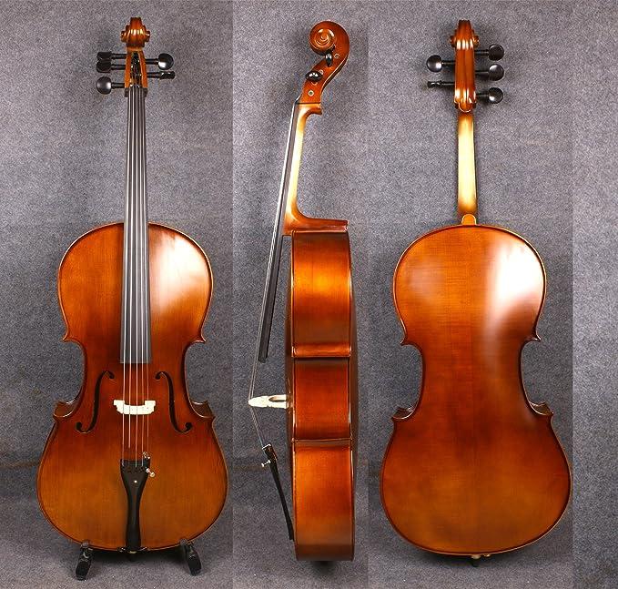 Amazon.com: yinfente 4/4 5 cuerdas violonchelo acústica ...