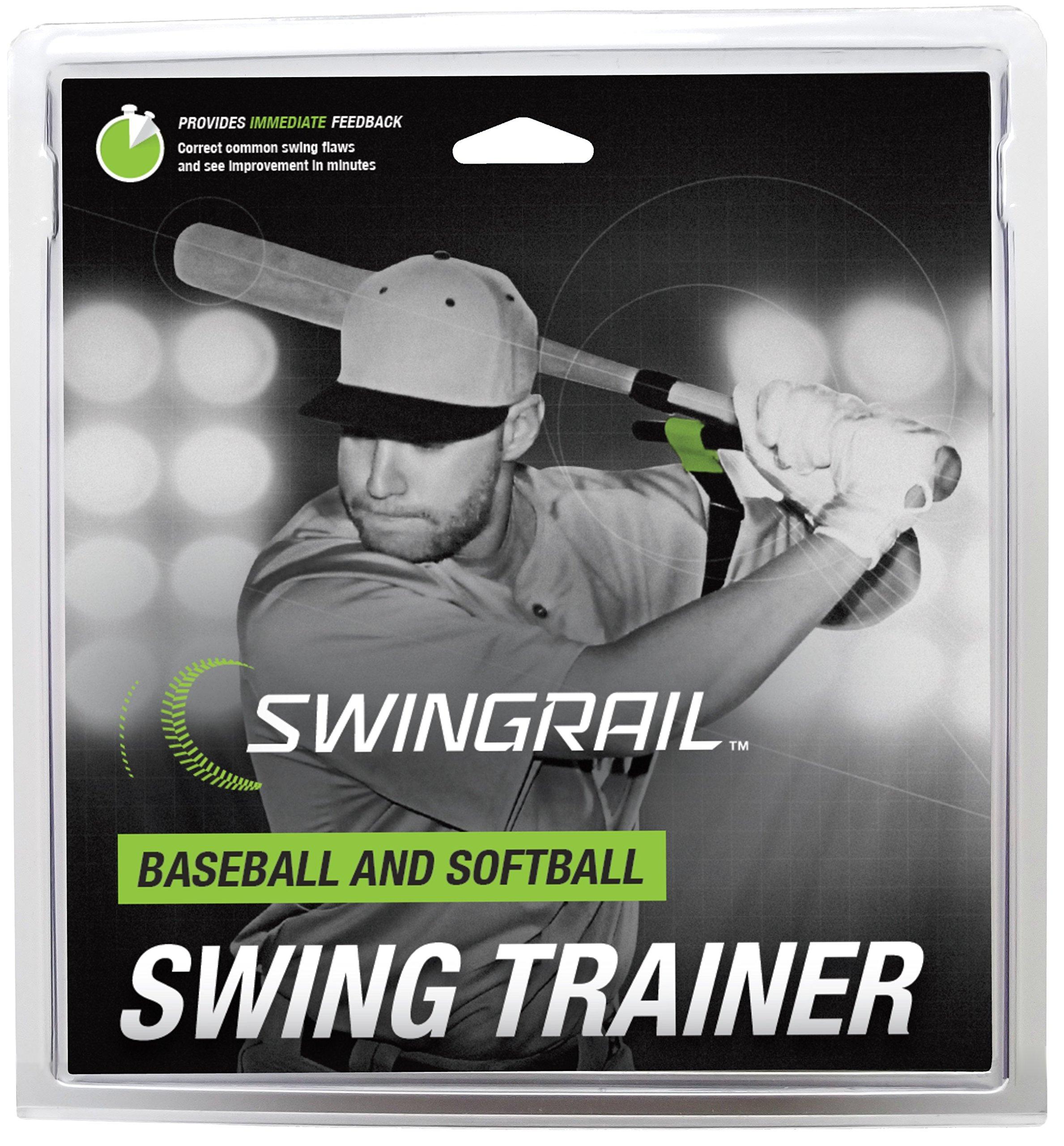 SWINGRAIL Baseball/Softball Training Aid by SWINGRAIL
