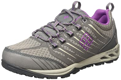 Columbia Ventrailia Razor Outdry, Chaussures Multisport Outdoor femme, Gris (Light GreyRazzle